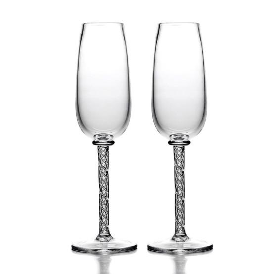 Stratton Champagne Flutes (Set of 2)