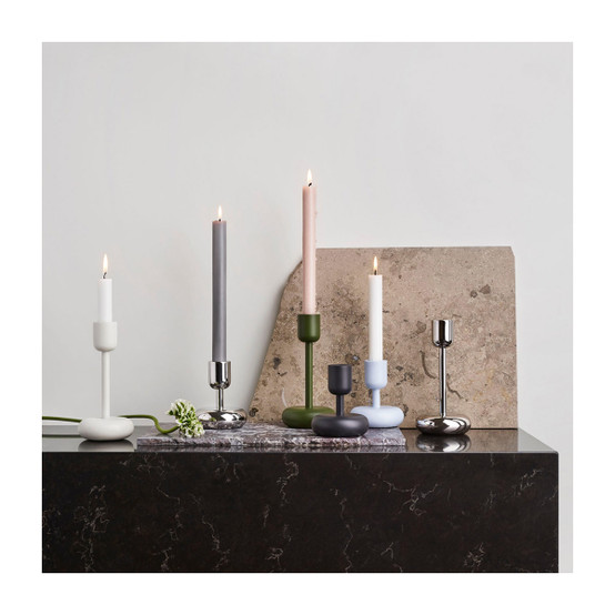 Nappula 4.25 inch Candle Holder in Stainless Steel