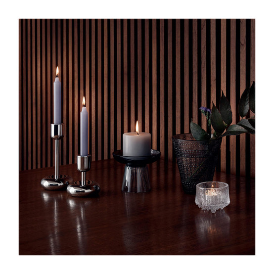 Nappula 7.25 inch Candle Holder in Stainless Steel