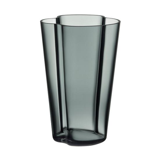 Aalto 8.75 inch Vase in Dark Grey
