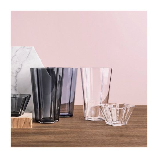 Aalto 8.75 inch Vase in Clear