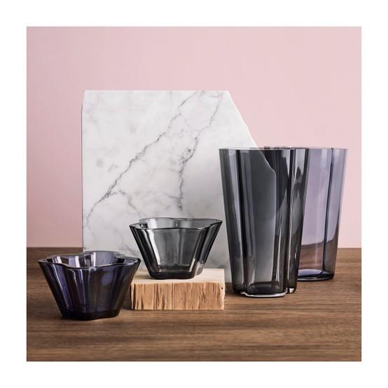 Aalto 8.75 inch Vase in Rain