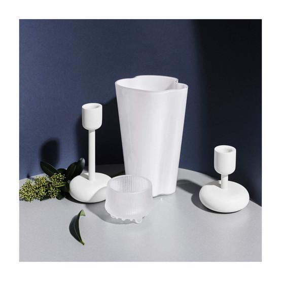 Aalto 8.75 inch Vase in White