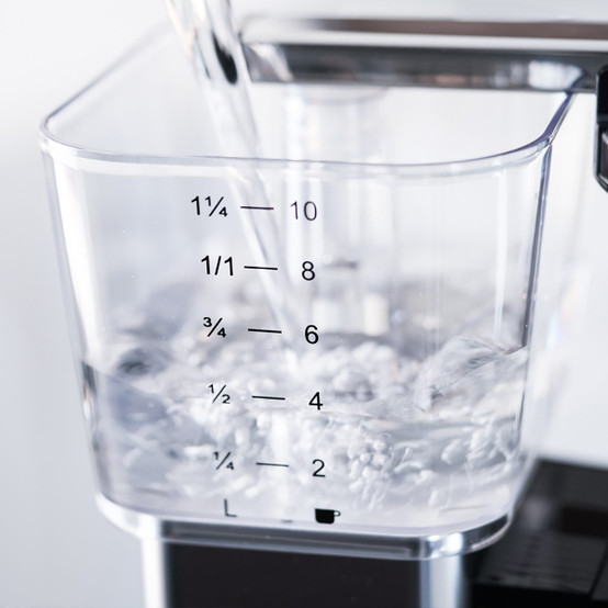 Automatic Coffee Maker in Black Metallic