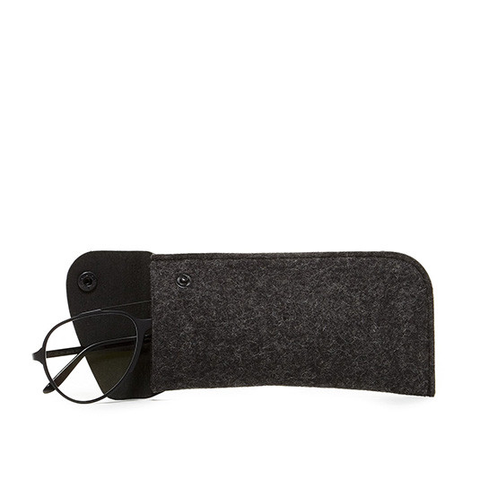 Anzen Eyeglass Sleeve in Charcoal