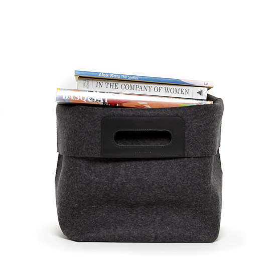 Korb Tote in Charcoal