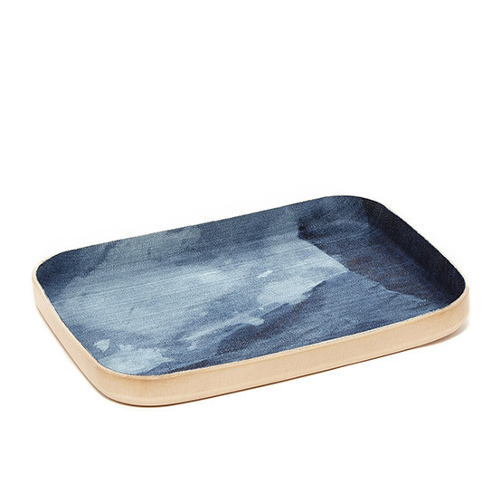 Large Kawabon Tray in Washed Denim