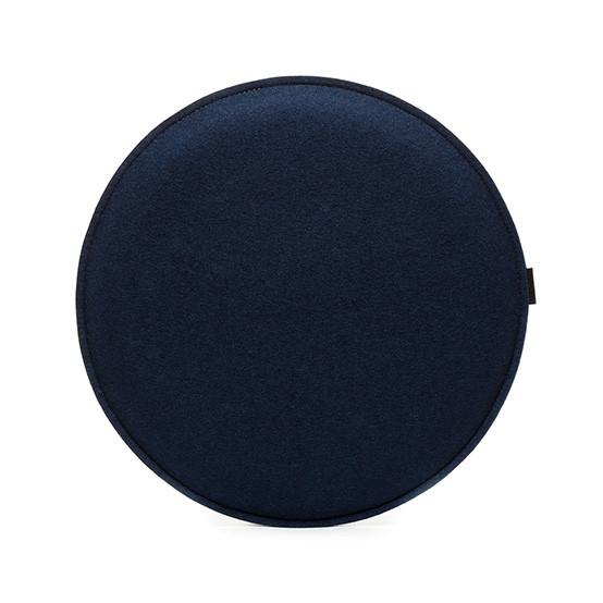 Round Zabuton Seat Pillow in Marine