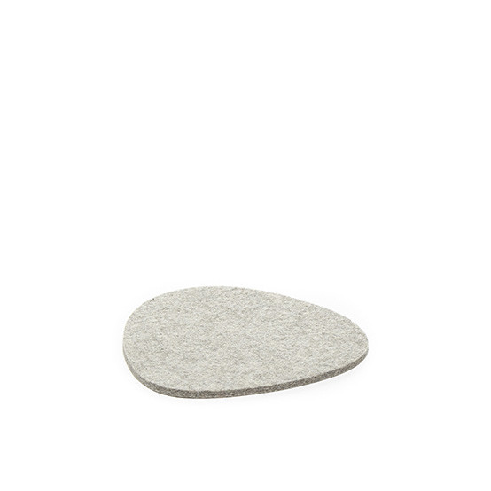 Small Stone Trivet in Granite Felt
