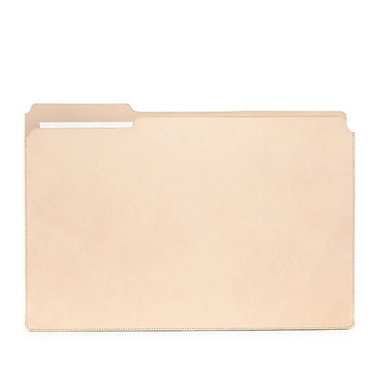Large Fiaru Folder in Natural