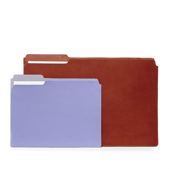 Large Fiaru Folder in Brandy