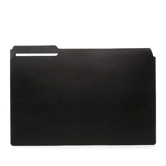Large Fiaru Folder in Black