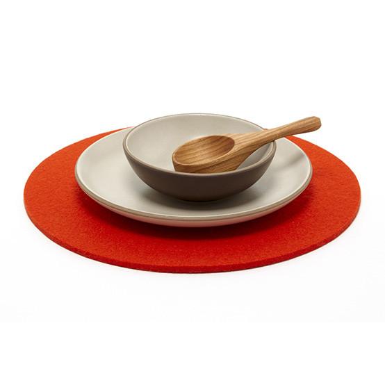 "12"" Round Trivet in Orange"