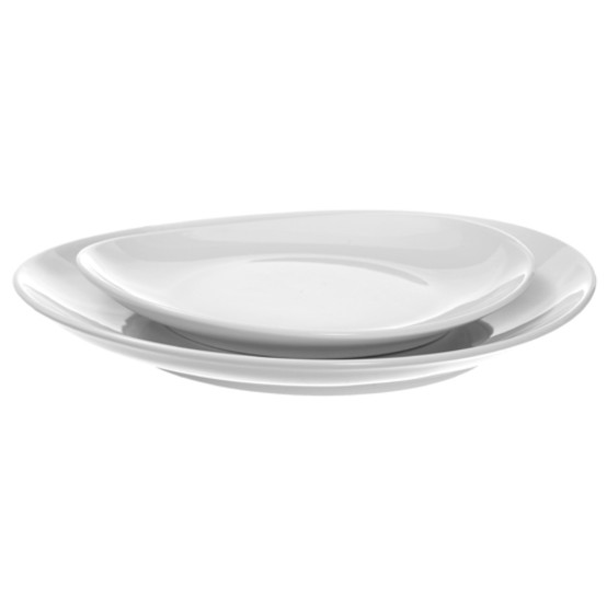 Fusion Oval Chop Side Plate 9 inches