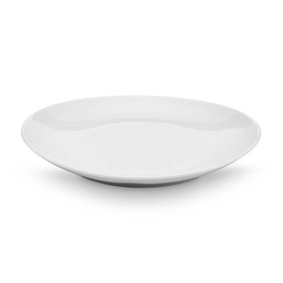 Fusion Oval Chop Dinner Plate 11.5x10