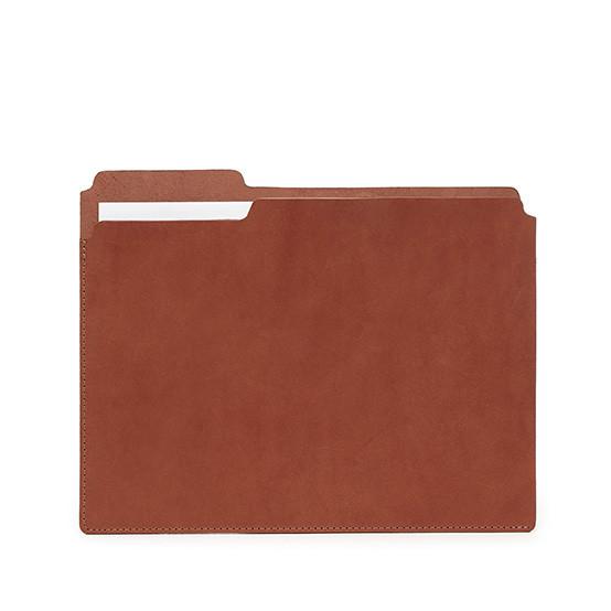 Fiaru Folder in Brandy