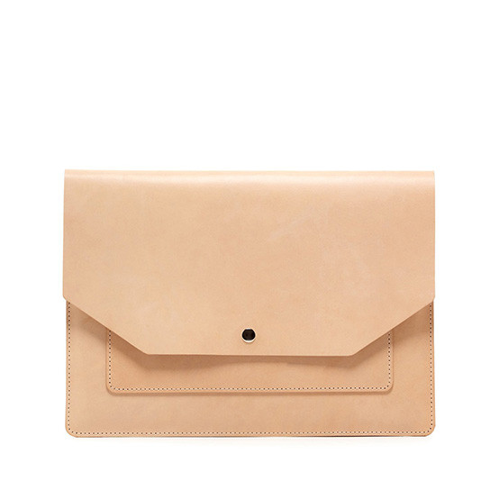 Yuso Folio in Natural Leather