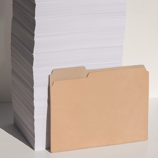 Fiaru Folder in Black