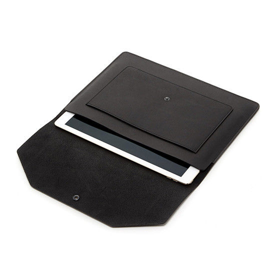 Yuso Folio in Black Leather
