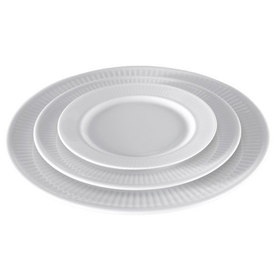 Plisse Plate 6-1/2 inch