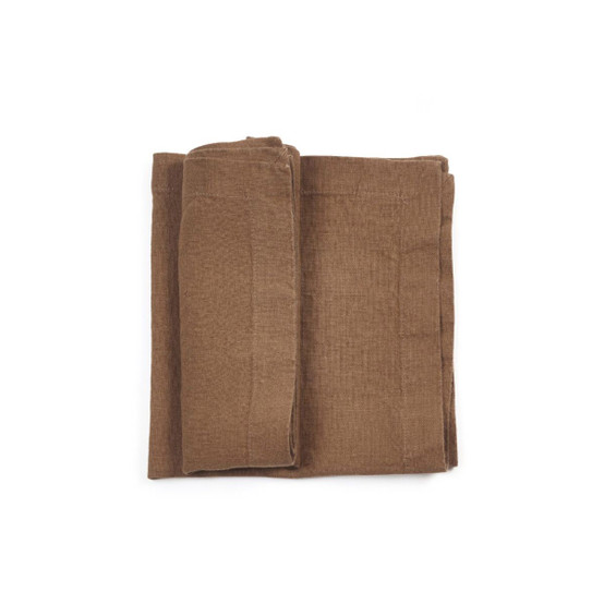 Timmery Napkin in Beeswax Brown