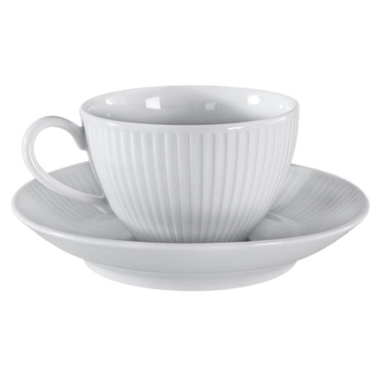 Plisse Breakfast Coffee Saucer