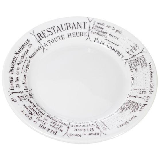 Brasserie Plate 6.5 inch