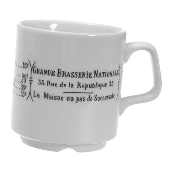 Brasserie Mug