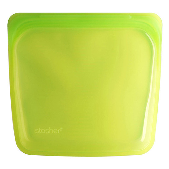 Stasher Sandwich Bag in Lime