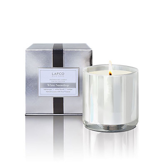 White Snowdrop Limited Edition 6.5 oz Candle