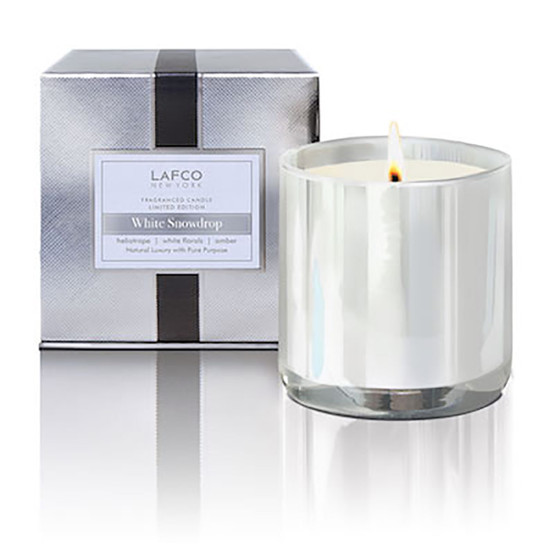 White Snowdrop Limited Edition 15.5 oz Candle