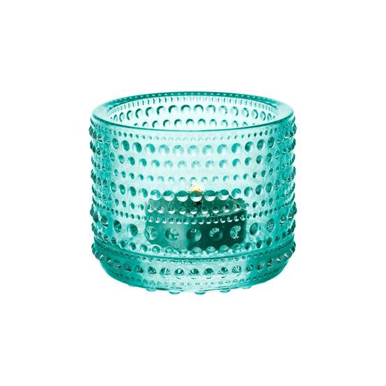 Kastehelmi Tealight Candleholder in Watergreen