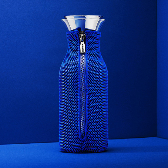 Fridge Carafe With Cover in 3D Electric Blue
