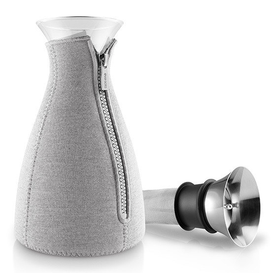 Cafe Solo» Coffee Maker in Woven Light Grey