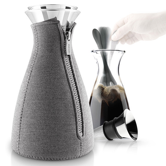 Cafe Solo™ Coffee Maker in Woven Dark Grey