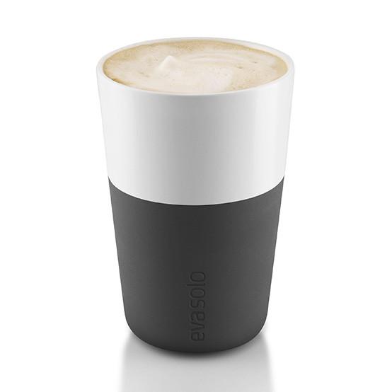 2pc Set Café Latte Tumbler in Carbon Black