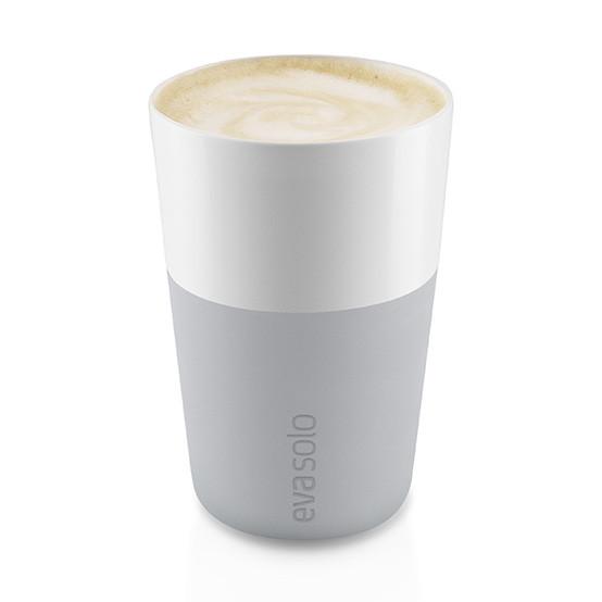 2pc Set Café Latte Tumbler in Marble Grey
