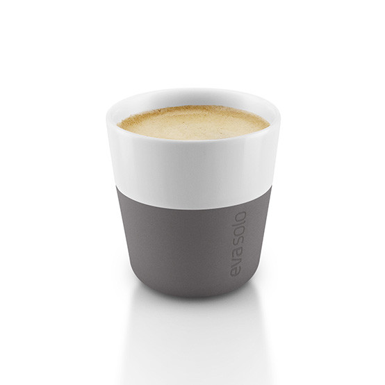 2pc Set Espresso Tumbler in Elephant Grey