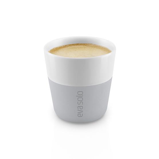 2pc Set Espresso Tumbler in Marble Grey