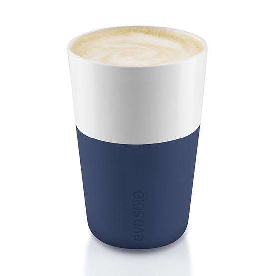 2pc Set Café Latte Tumbler in Navy Blue