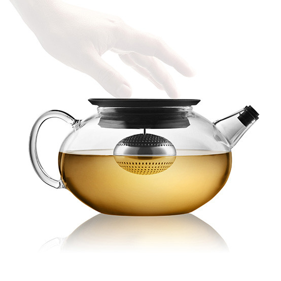 Glass Teapot with Built-in Tea Egg