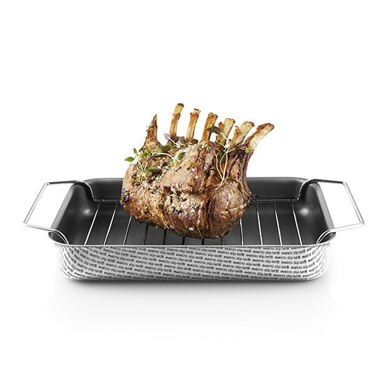 Small Non-Stick Roasting Pan with Rack