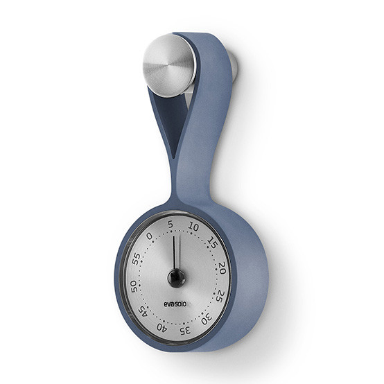 Timer With Strap in Moonlight Blue