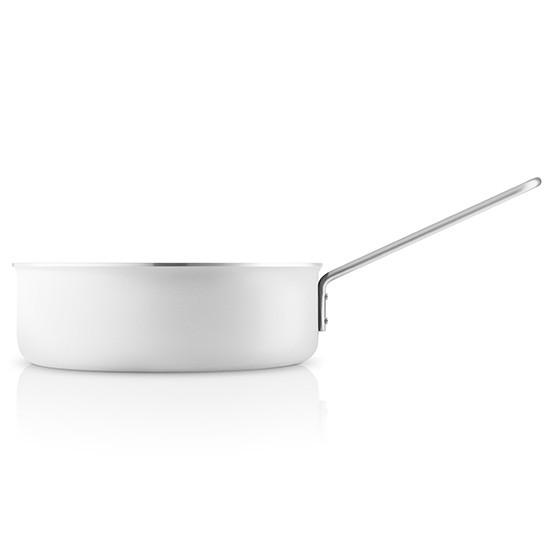 White Non-Stick Saut_ Pan