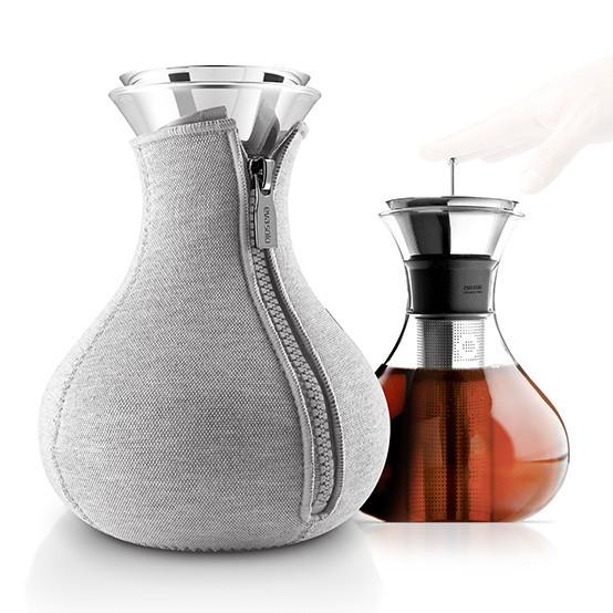 Tea Maker in Woven Light Grey