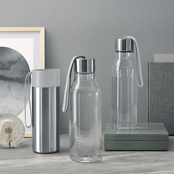 0.5L Drinking Bottle in Marble Grey