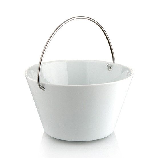 1.0L Bowl With Handle in White