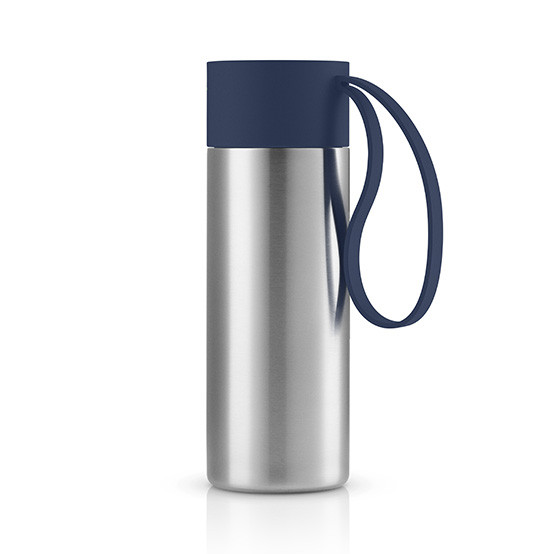 To Go Cup in Navy Blue