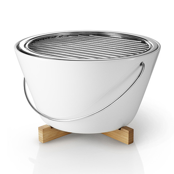 Table Grill in White