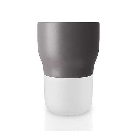 Small Curvy Pot in Nordic Grey